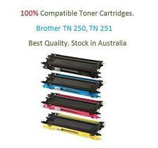 4x COMPATIBLE Toner TN-255 TN255 TN251 High Yield Brother HL3150CDN HL3170CDW
