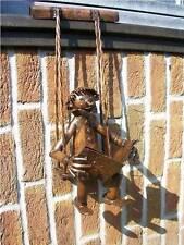 Dachrinnenfigur Dachdeko MANN  Kupfer Dachschmuck Kupferfigur Dachrinne NEU