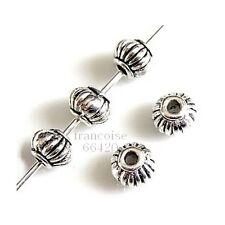 25 Intercalaires spacer Lanterne arg 4x5x5mm Perles apprêts création bijoux A287