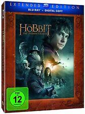 DER HOBBIT: EINE UNERWARTETE REISE, Extended Edition (Blu-ray, 3 Discs) NEU+OVP
