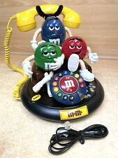 More details for m & m's landline talking animated telephone working model