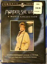 Murder, She Wrote: 4 Movie Collection DVD 2-Disc Set New/Sealed
