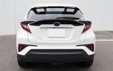Painted Black Wing Spoiler 1pcs For Toyota C-HR 2016 2017 2018