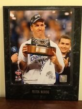 PEYTON MANNING NFL INDIANAPOLIS COLTS AFC CHAMPIONSHIP PLAQUE