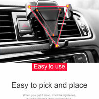 Gravity Car Air Vent Mount Stand Cradle Holder For Universal Mobile Phone GPS