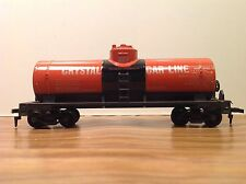"""HO Scale """"Crystal Car Line"""" CCLX 277 Single Dome Freight Tanker"""