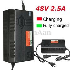 48V Output E-bike Scooter 2.5A Li-ion Lithium Battery Charger Adaptor W/ PC Plug