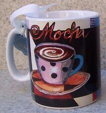 Jumbo Coffee Mug Mocha NEW 30 ounce cup with gift box