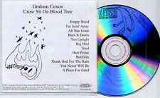 GRAHAM COXON CROW SIT ON BLOOD TREE UK 12TRK PROMO TEST CD