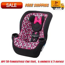 Apt 50 Convertible Car Seat, Minnie Sweetheart, Washable, 6 harness & 3 buckle