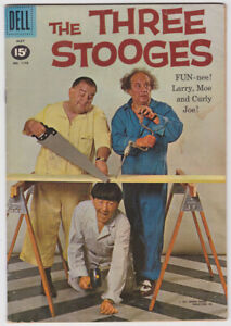 Four Color #1170 (May 1961) 4.5 VG+ Dell Three Stooges Photo Cover Comic