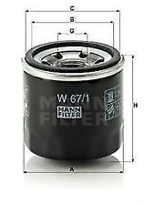 MANN W67/1 Oil Filter
