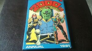 L@@K 1981 2000 AD ANNUAL UNCLIPPED