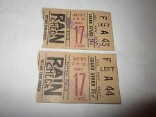 1930 Holy Cross Baseball Ticket Stub Fitton Field Worcester, MA May 17th
