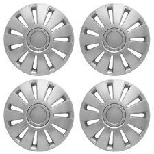 "15"" VW Polo Wheel Trims Hubcaps Trim Cap Cover X 4 Silver New Trim Set Quality"