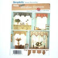 Simplicity Pattern · 4656 · Home Decor Window Treatments