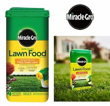 Miracle Gro Lawn Fertilizer 5 Lbs Water Soluble Fast Grow Thick Green Grass Food