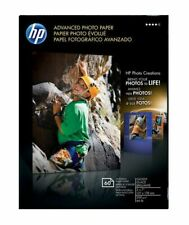 HP Hewlett Packard Q8690A 5 x 7 Advanced Photo Paper 60 Sheets 127 x 178 mm jet