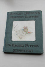 Vintage 1st Edition Beatrix Potter: Apply Dapply's Nursery Rhymes.