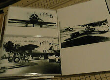 Lot of 3 4x6 B & W Vintage Air Show Photographs: #155 Turner's #29 METOR -#121