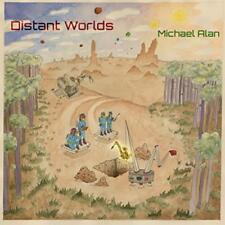 Michael Alan: Distant Worlds w/ Artwork MUSIC AUDIO CD 2017 Self-Published Album