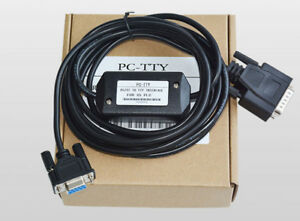 US PC-TTY 6ES5734-1BD20 DB9 To DB15 PLC Programming Cable For SIMATIC S5 Series