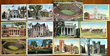 14 c1910 NEW HAVEN, CT POSTCARDS/SOUVENIR FOLDER Yale University, The Green NR