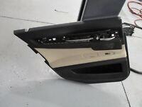 BMW 740i 750i 535i F01 F02 Rear Left Interior Door Panel Tan