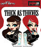 Thick as Thieves Car Decal Sticker Miss Cherry Martini BFF Punk Girl