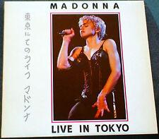 "MADONNA LIVE IN TOKYO LP MADE IN JAPAN PROMO LIMITED 12"" VINYL DRESS LOOK LIKE"