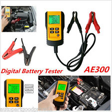 Professional AE300 Digital LCD Car Battery Tester Diagnostic Analyzer Test Tool