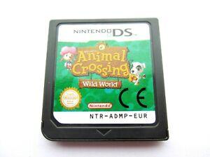 Animal Crossing Wild World Spiel für Nintendo DS,DS Lite,DSi,3DS DE/EN/FR/IT/ES