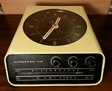 EUROPHON radio orologio design anni 60 70 modernariato brionvega space age