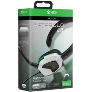 Xbox One Headset Series One X S Afterglow Wired 3.5mm Stereo Headphones Mic New