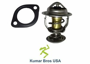 New Kumar Bros USA Thermostat & Gasket 160°F For Bobcat S130 S150 S160 S175 S185