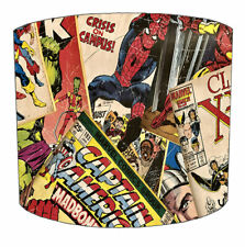Marvel Lampshades, Ideal To Match Marvel Wallpaper, Marvel Duvets & Curtains.