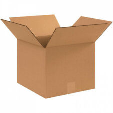 Corrugated Cardboard Boxes 12x12x10 Pack of 25 Shipping Packaging Mailing Box