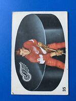 Leonard Lunde 1962-63 Parkhurst Hockey Card #35  Detroit Red Wings