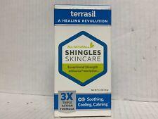 Terrasil All Natural Shingles Skin Care 3x Triple Action Formula 1.5 OZ