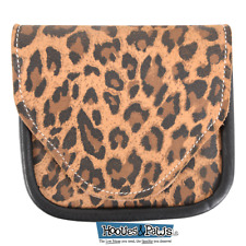 Martin Saddlery Equine Saddle Pocket Cheetah Bag Attaches to Horse Saddle