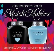 CUCCIO Veneer Match Makers - UNDER A BLUE MOON 6101 Pastel Baby Blue Gel Duo Kit