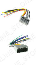 CAR STEREO CD PLAYER WIRING HARNESS SET WIRE ADAPTER PLUG FOR CHRYSLER 02-10