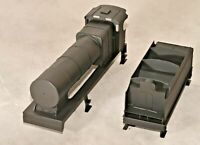 """Fowler 7F 0-8-0 """"Austin 7"""" Superstructure and 3500 Gallon Tender Kit O Gauge 7mm"""