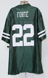 New York Jets Matt Forte #22 NFL Team Apparel Youth XL 16/18 Green Jersey-NWT