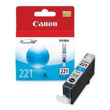 Canon Dye Ink Cartridge 535 Page Yield Cyan CLI221C