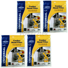 4 x Philips Universal Cooker Hood Extractor Grease Filter 114 x 47cm Cut To Size