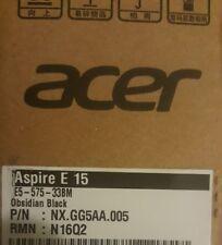 Acer Aspire E 15 E5-575-33BM 15.6in FHD Notebook 1TG Intel Core i3-7100U 7th Gen