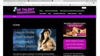 WEBCAM MODELS MANAGEMENT BUSINESS WEBSITE FOR SALE, TURNKEY & READY TO LAUNCH.