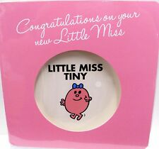 "Official ""MR MEN & LITTLE MISS ""New Baby Congratulations Card ~ Little Miss Tiny"