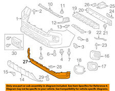 TOYOTA OEM 05-13 Tacoma-Rear Spoiler Left 7689604901